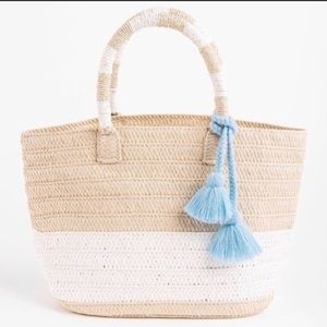 ALTRU straw Tote Beach Bag